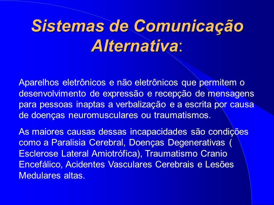 Sistemas de Comunicação Alternativa: