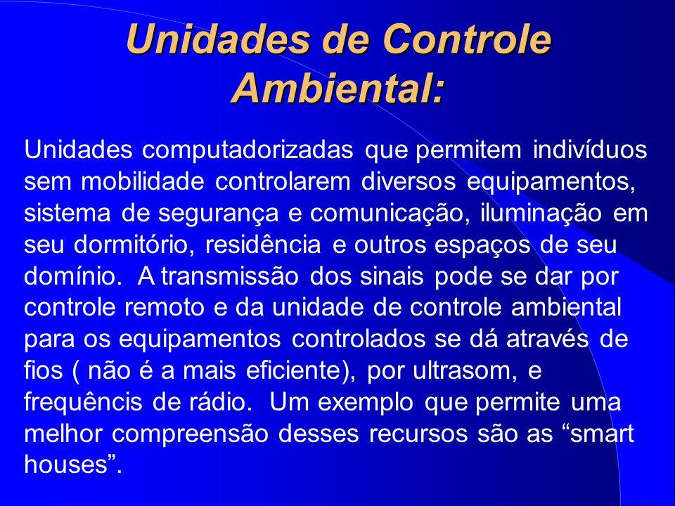 Unidades de Controle Ambiental: