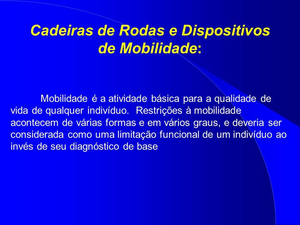 Cadeiras de Rodas e Dispositivos de Mobilidade: