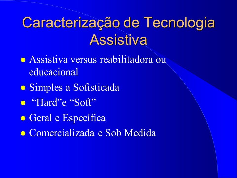Caracterização de Tecnologia Assistiva