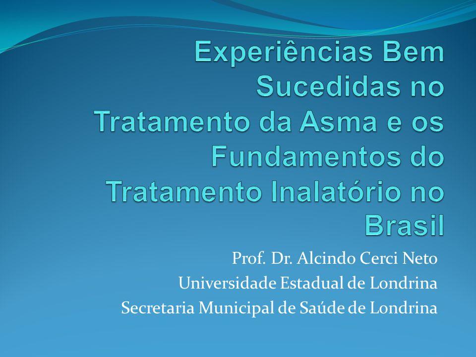 Experiências Bem Sucedidas no Tratamento da Asma e os Fundamentos do Tratamento Inalatório no Brasil