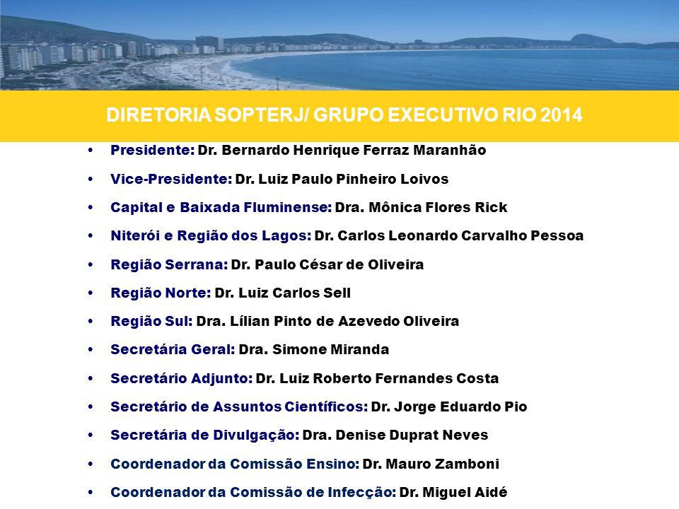 DIRETORIA SOPTERJ/ GRUPO EXECUTIVO RIO 2014