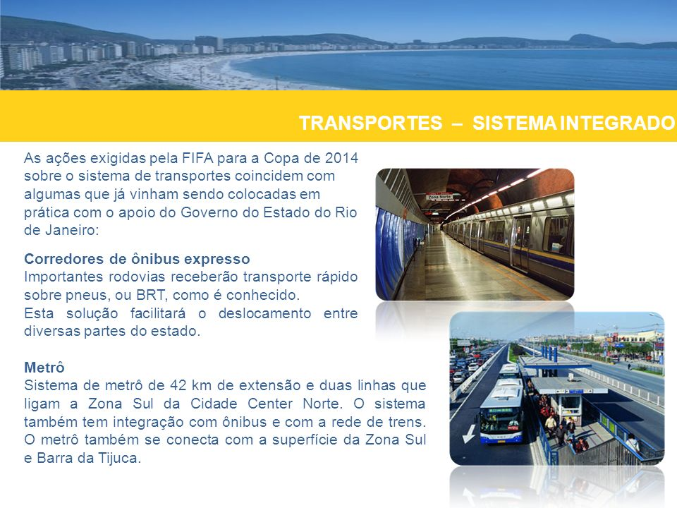TRANSPORTES – SISTEMA INTEGRADO