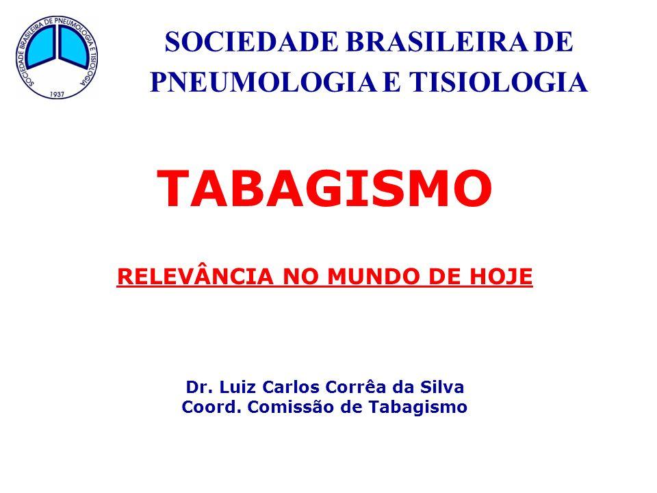 TABAGISMO SOCIEDADE BRASILEIRA DE PNEUMOLOGIA E TISIOLOGIA