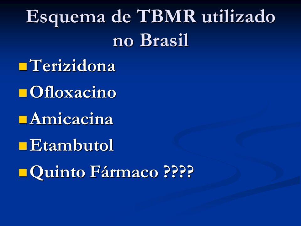 Esquema de TBMR utilizado no Brasil