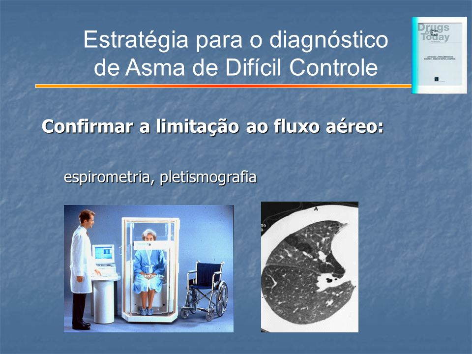 Estratégia para o diagnóstico de Asma de Difícil Controle