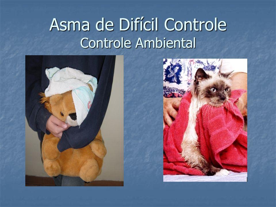 Asma de Difícil Controle Controle Ambiental