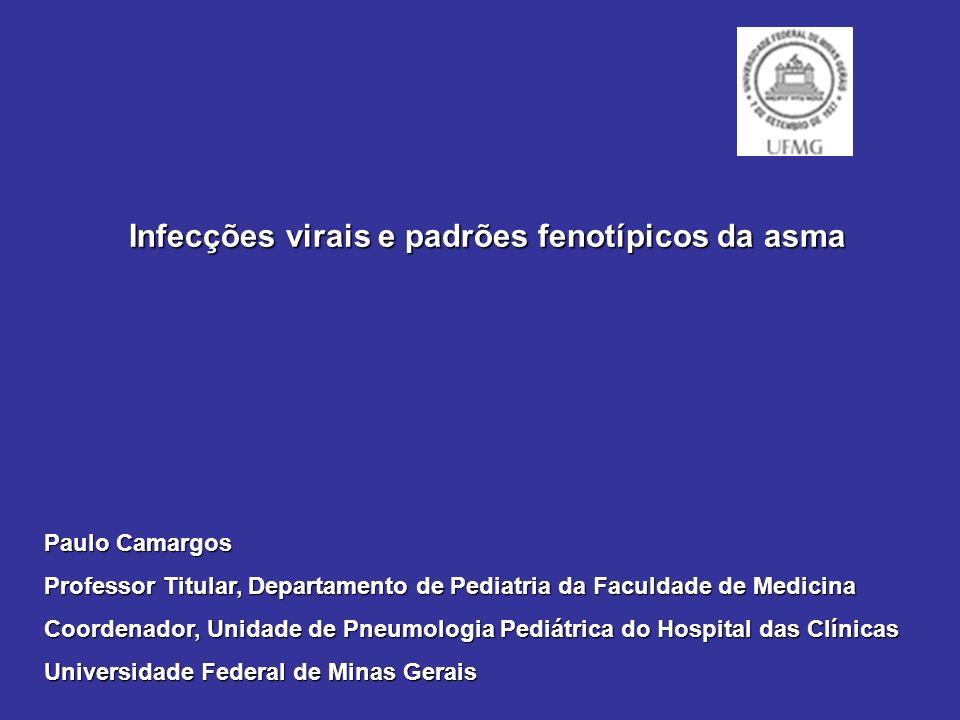Infecções virais e padrões fenotípicos da asma