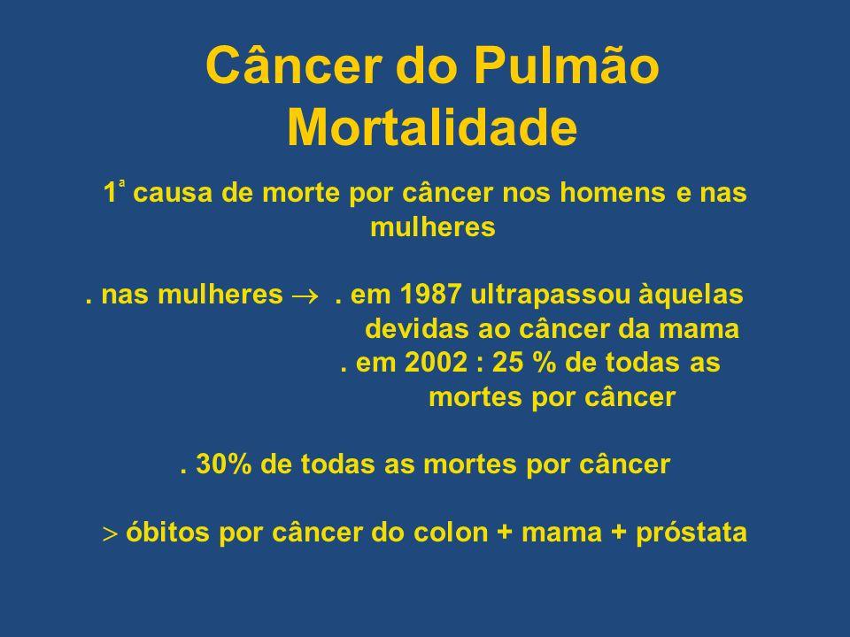 Câncer do Pulmão Mortalidade