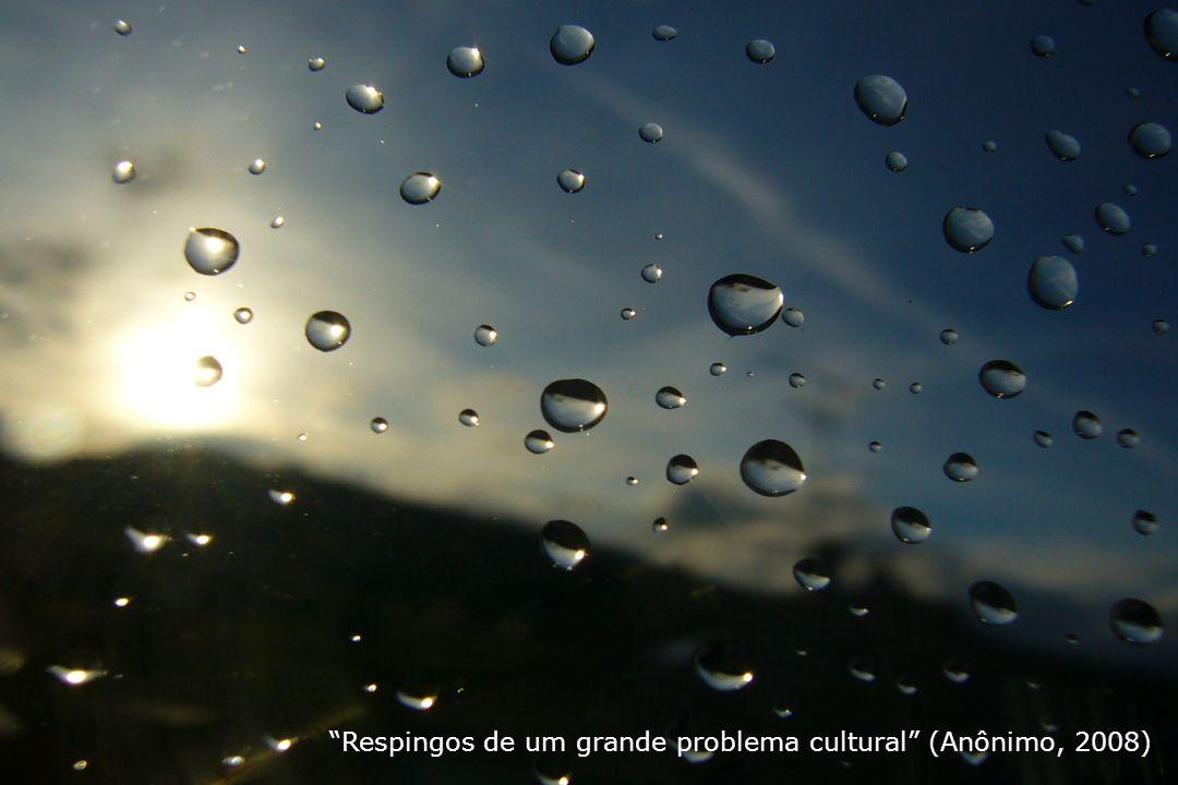 Respingos de um grande problema cultural (Anônimo, 2008)