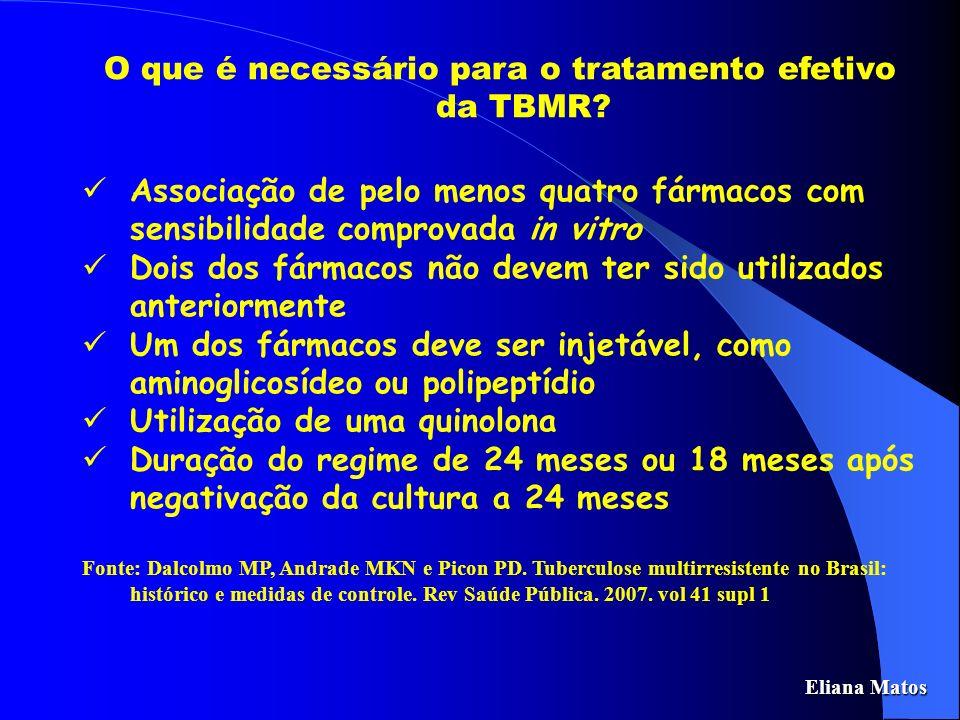O que é necessário para o tratamento efetivo da TBMR