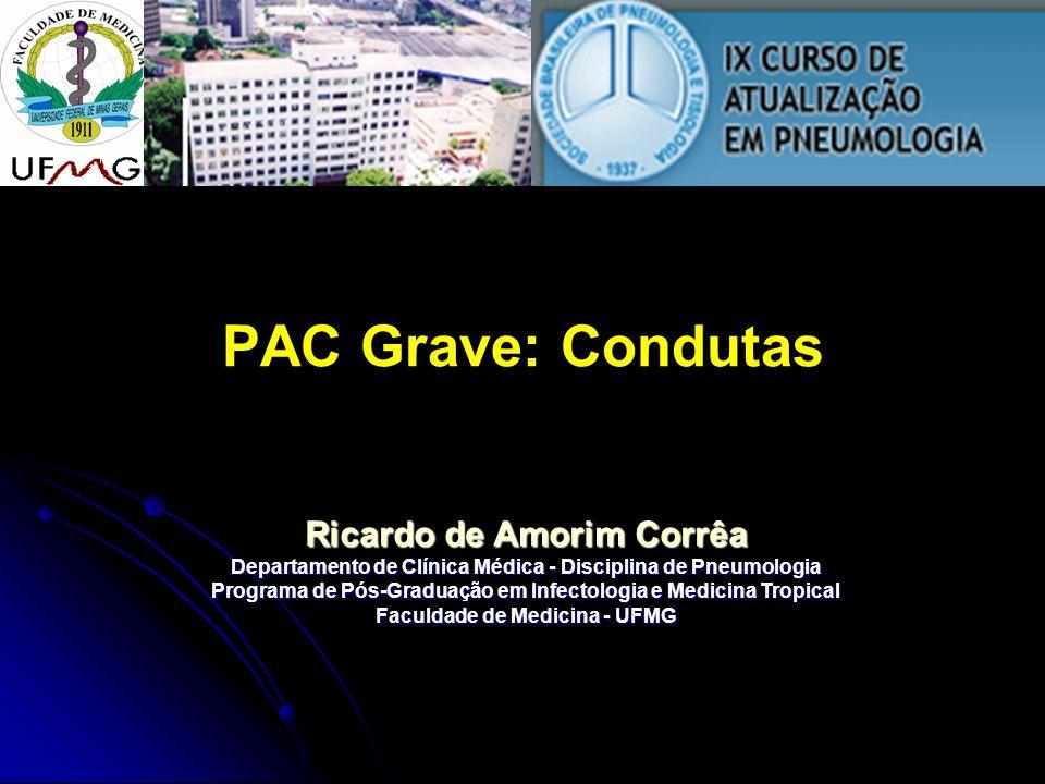 PAC Grave: Condutas Ricardo de Amorim Corrêa