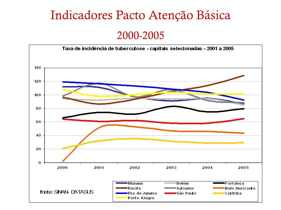 Indicadores Pacto Atenção Básica