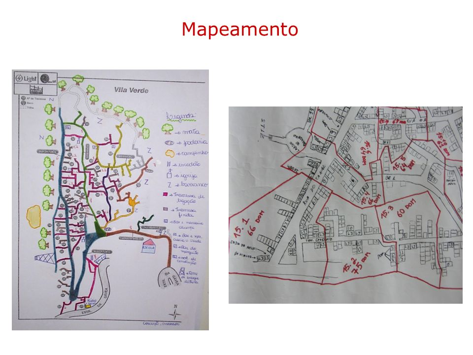 Mapeamento Detailed map