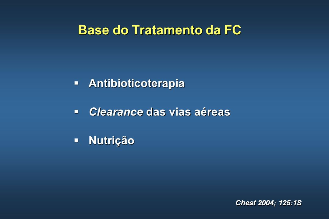 Base do Tratamento da FC