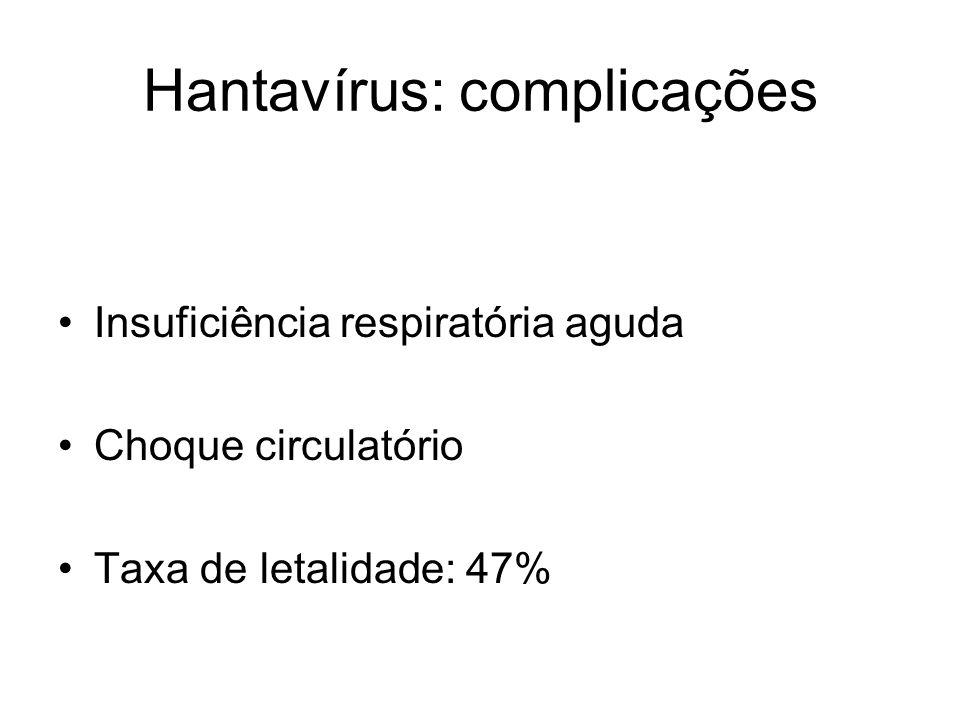 Hantavírus: complicações