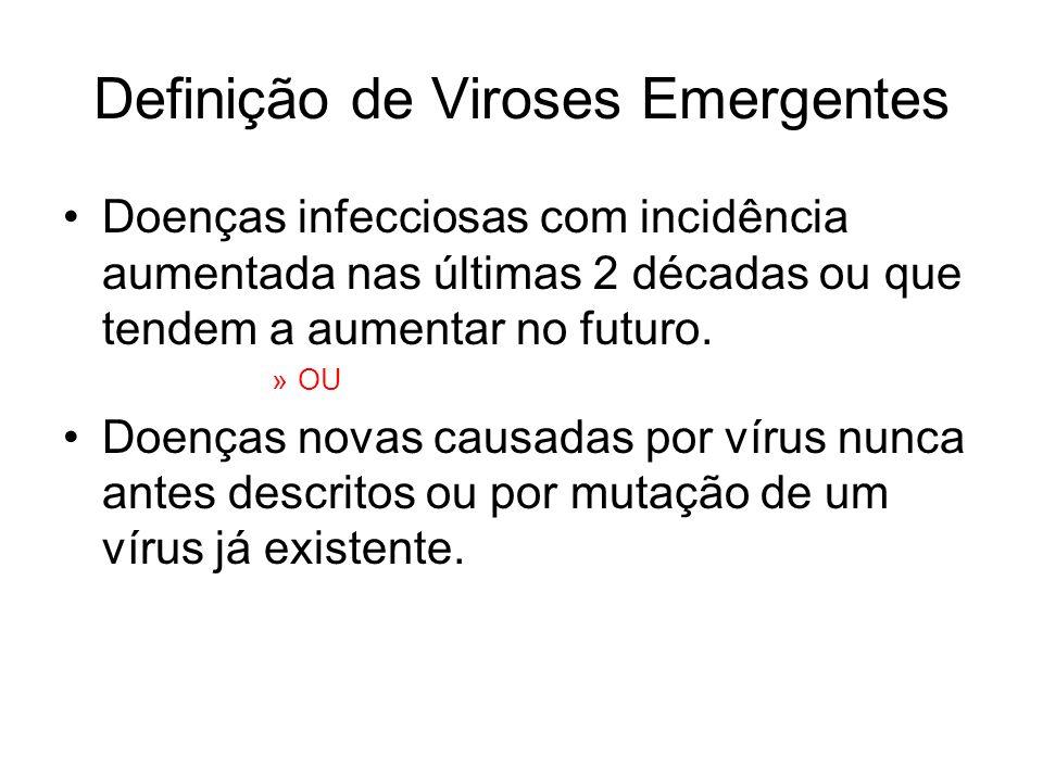 Definição de Viroses Emergentes