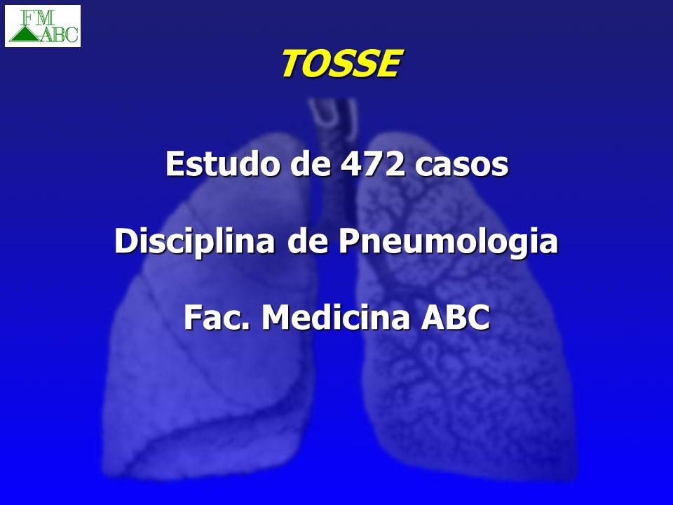 Disciplina de Pneumologia