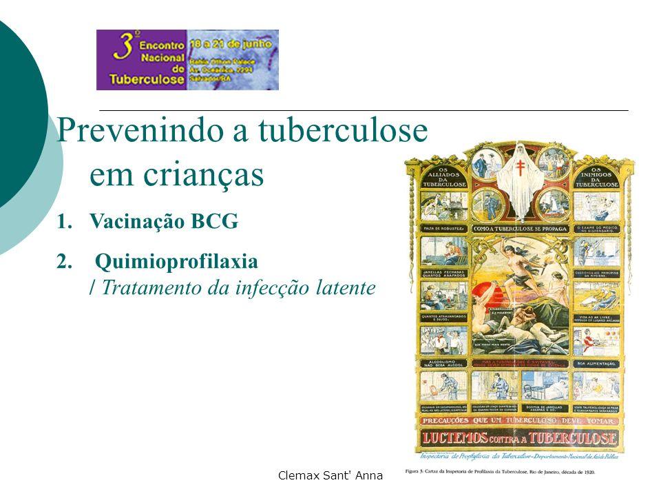 Prevenindo a tuberculose em crianças