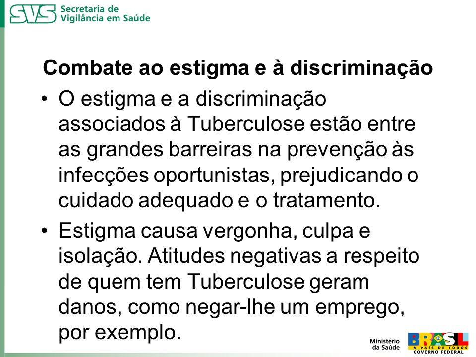 Combate ao estigma e à discriminação