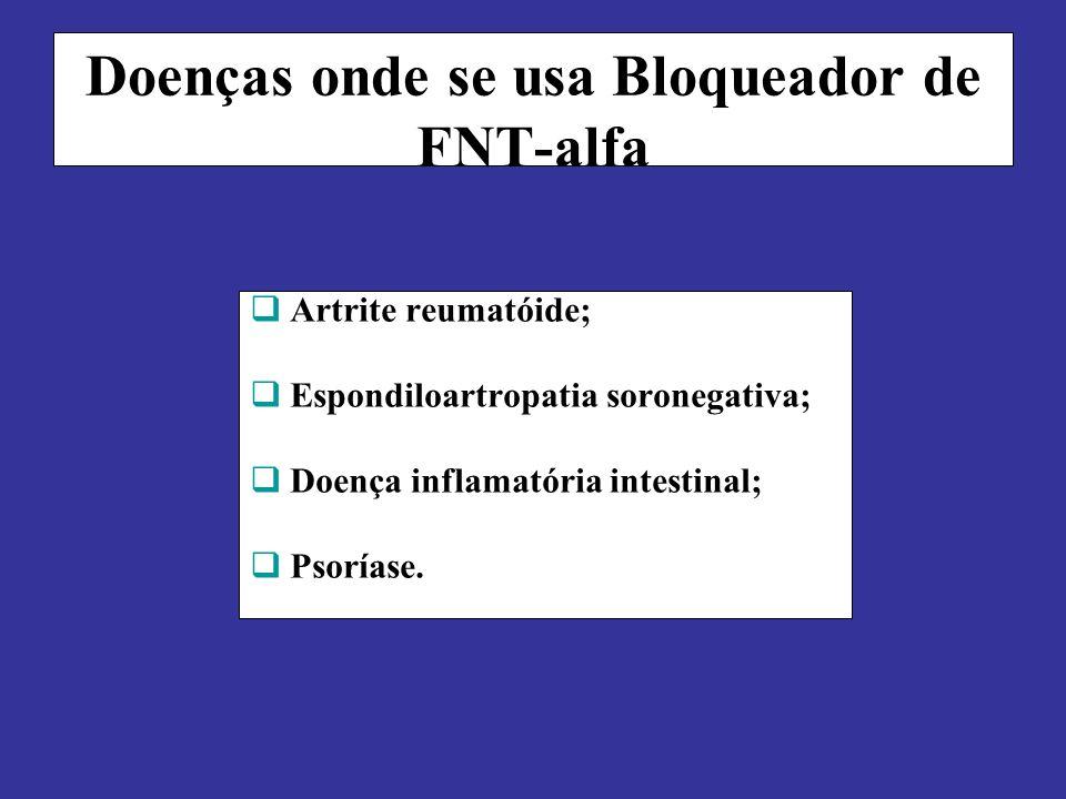 Doenças onde se usa Bloqueador de FNT-alfa