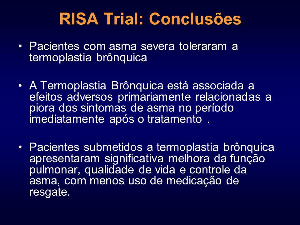 RISA Trial: Conclusões