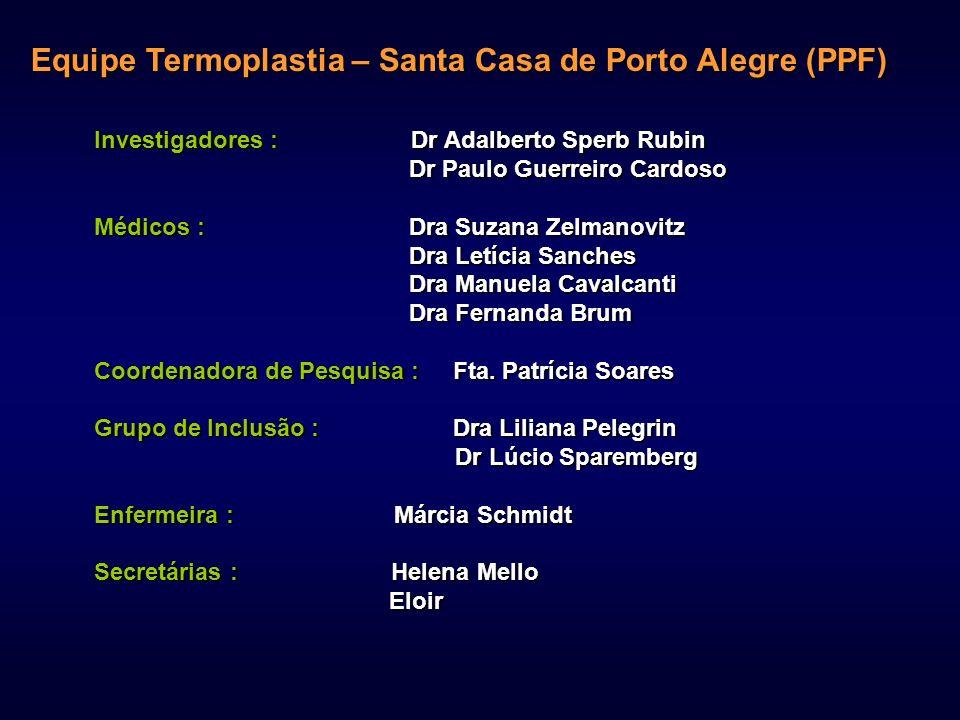 Equipe Termoplastia – Santa Casa de Porto Alegre (PPF)