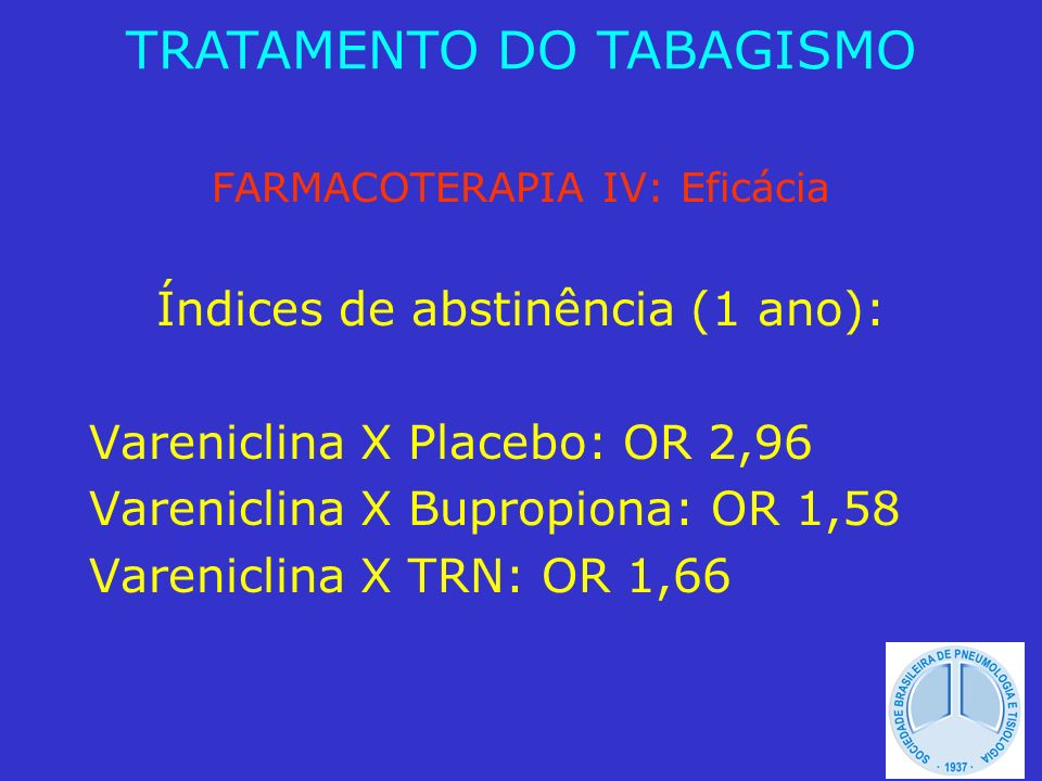TRATAMENTO DO TABAGISMO