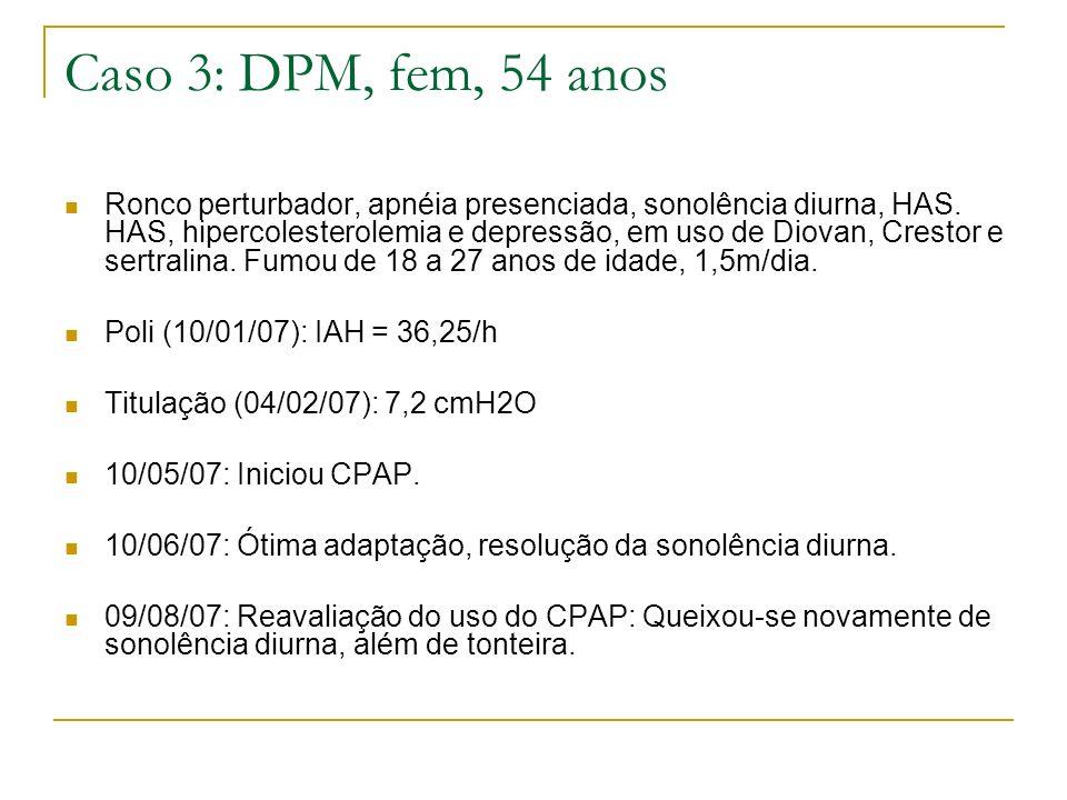 Caso 3: DPM, fem, 54 anos