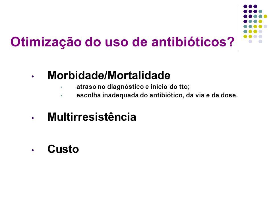 Otimização do uso de antibióticos