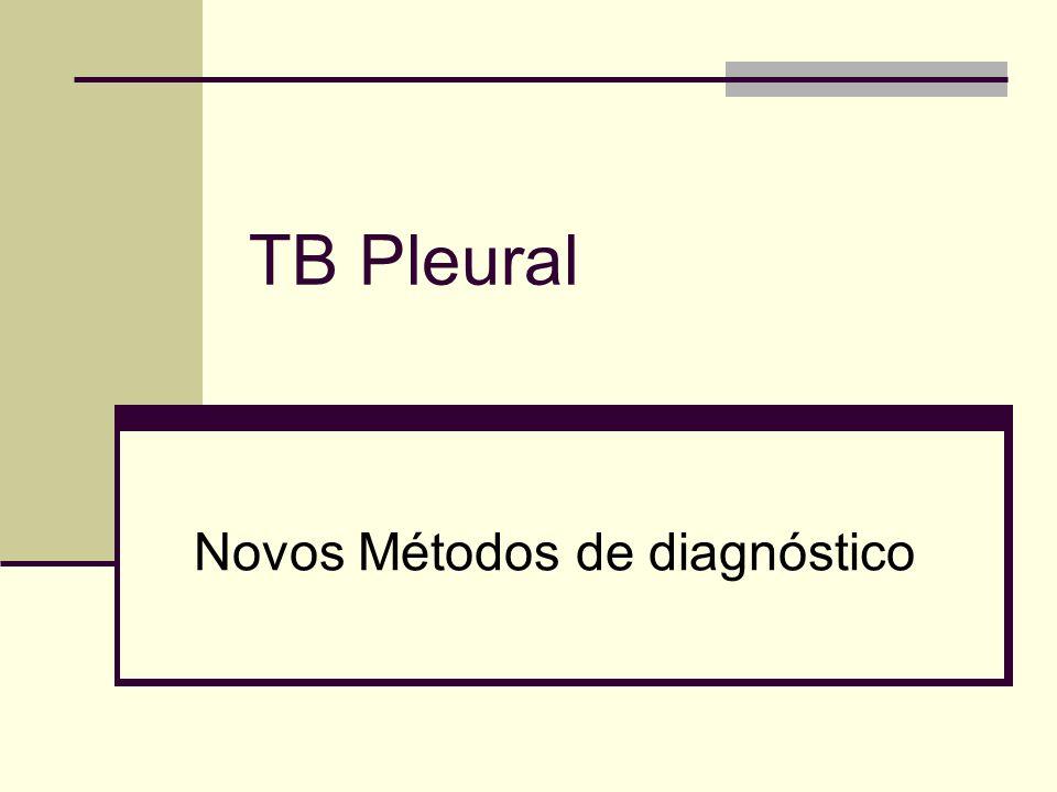 Novos Métodos de diagnóstico