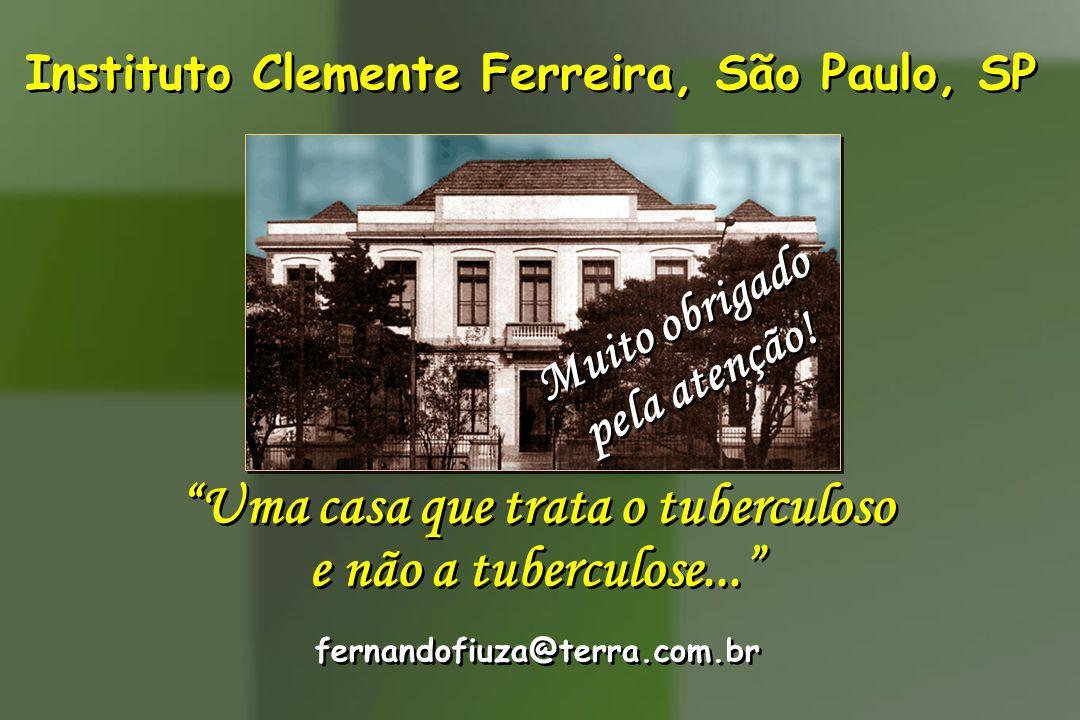Instituto Clemente Ferreira, São Paulo, SP