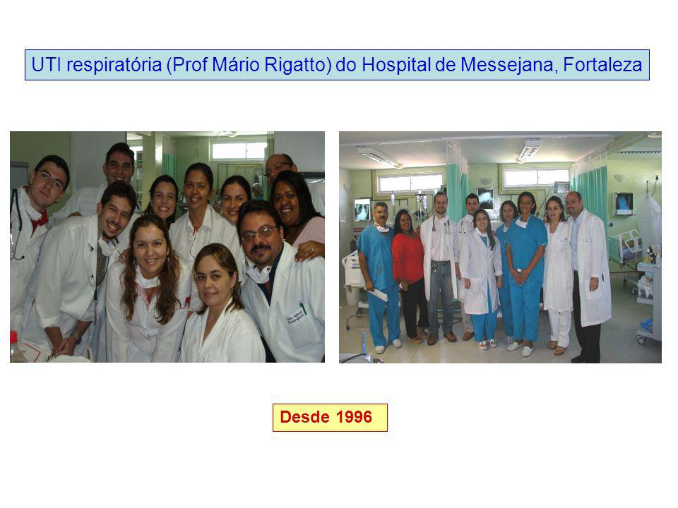 UTI respiratória (Prof Mário Rigatto) do Hospital de Messejana, Fortaleza