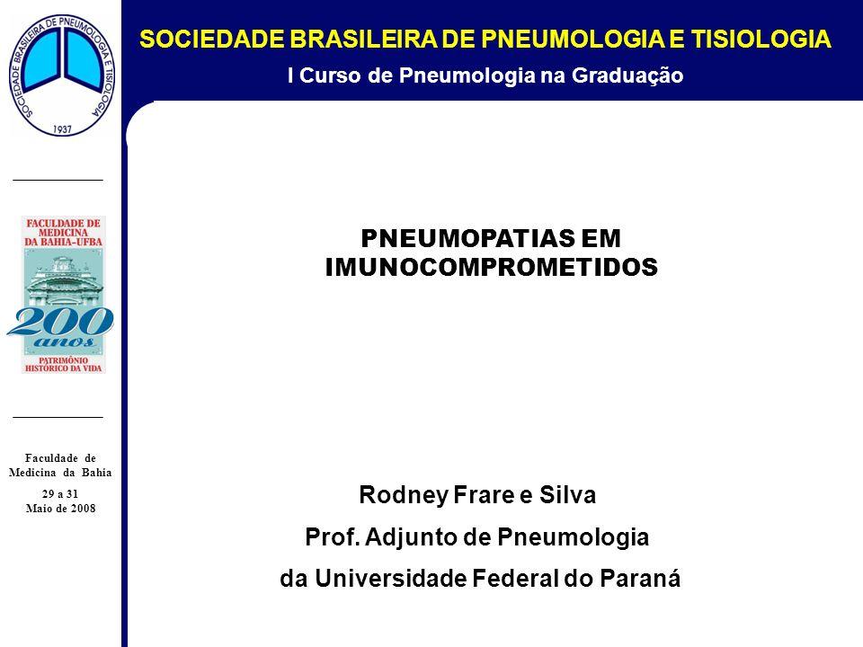 1 SOCIEDADE BRASILEIRA DE PNEUMOLOGIA E TISIOLOGIA