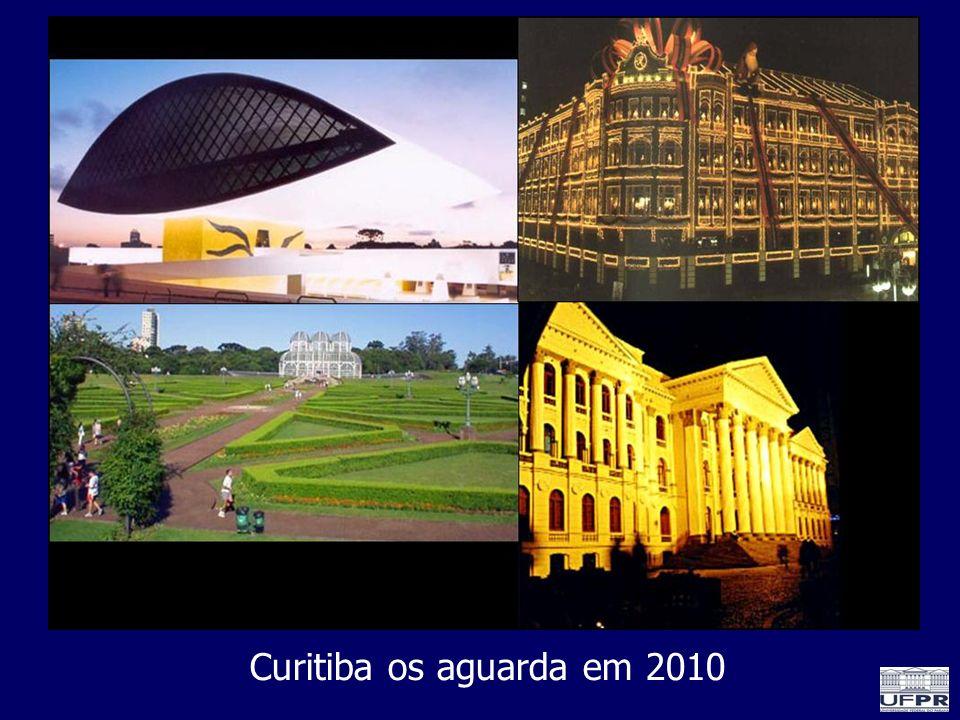 Curitiba os aguarda em 2010