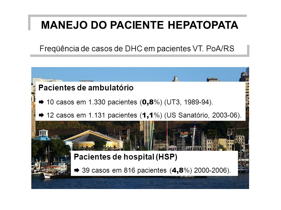 MANEJO DO PACIENTE HEPATOPATA