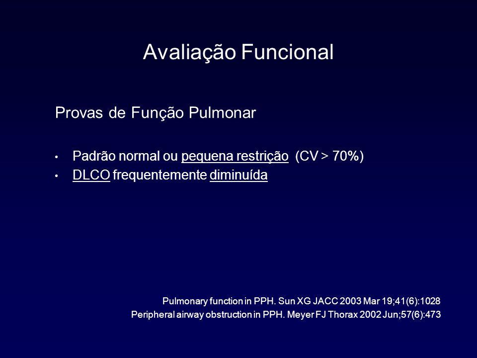 Avaliação Funcional Provas de Função Pulmonar