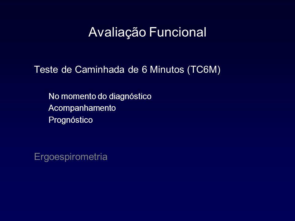 Avaliação Funcional Teste de Caminhada de 6 Minutos (TC6M)