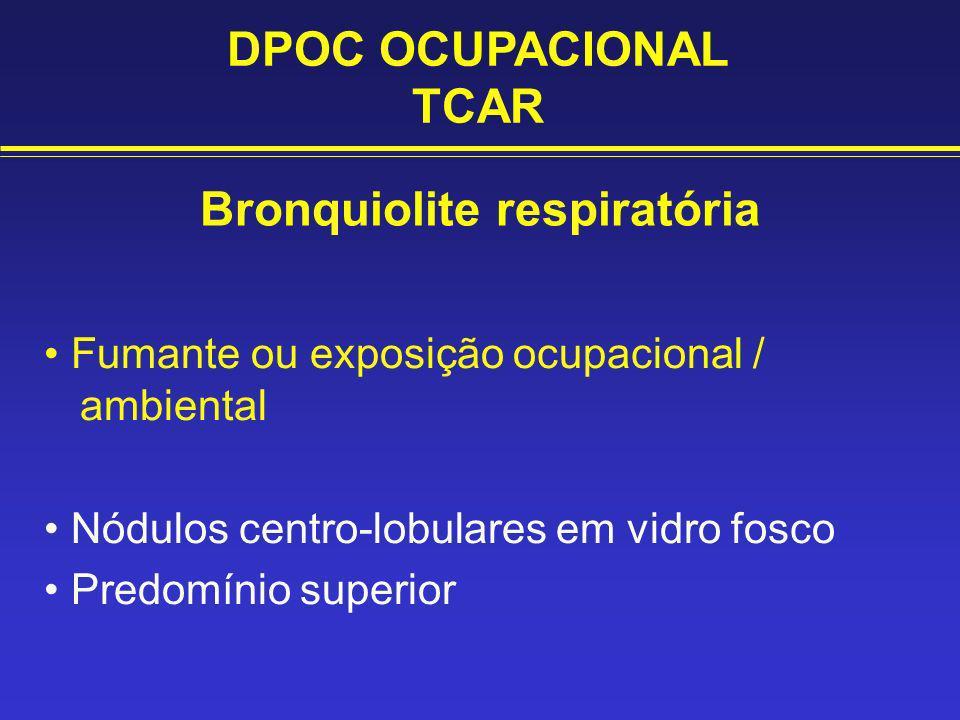 Bronquiolite respiratória