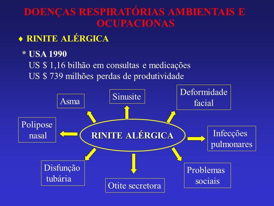 DOENÇAS RESPIRATÓRIAS AMBIENTAIS E