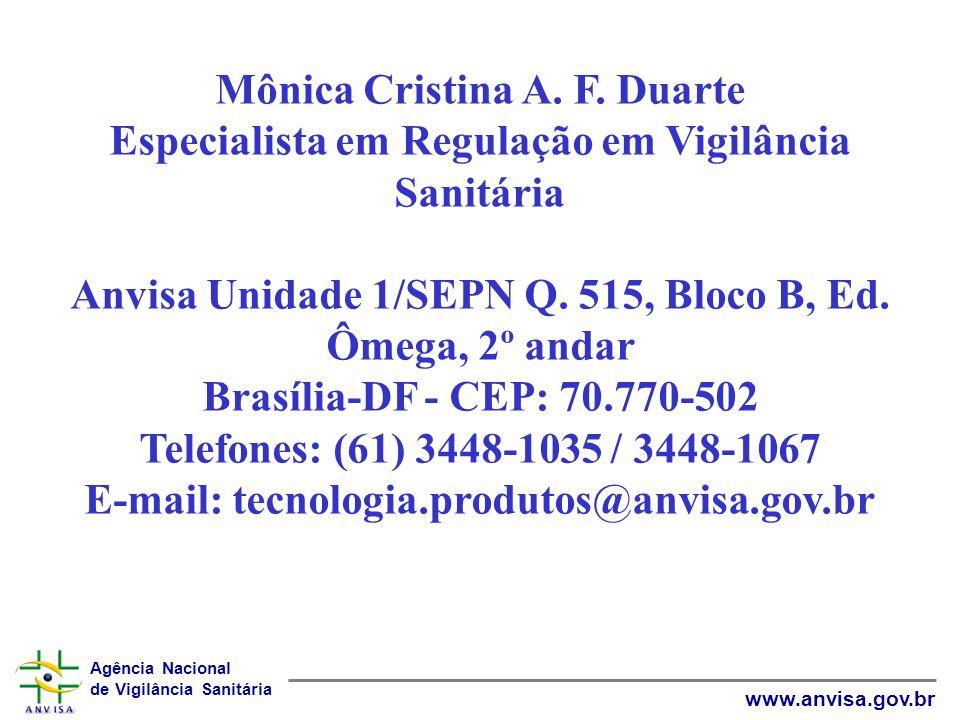 Mônica Cristina A. F.