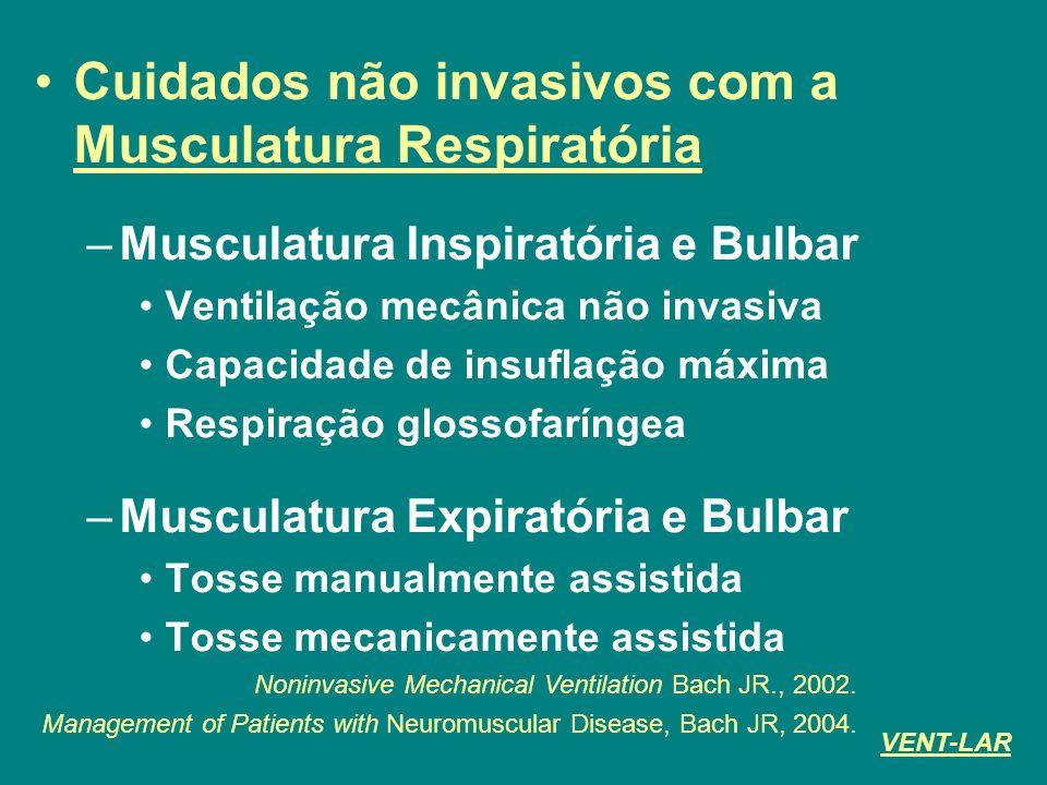 Cuidados não invasivos com a Musculatura Respiratória