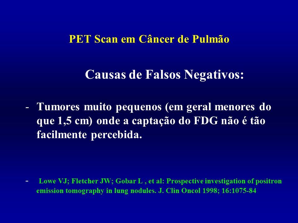 PET Scan em Câncer de Pulmão