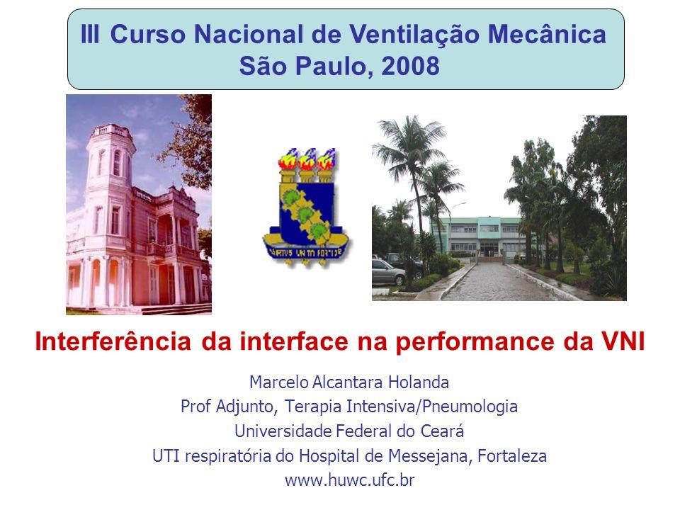 III Curso Nacional de Ventilação Mecânica São Paulo, 2008