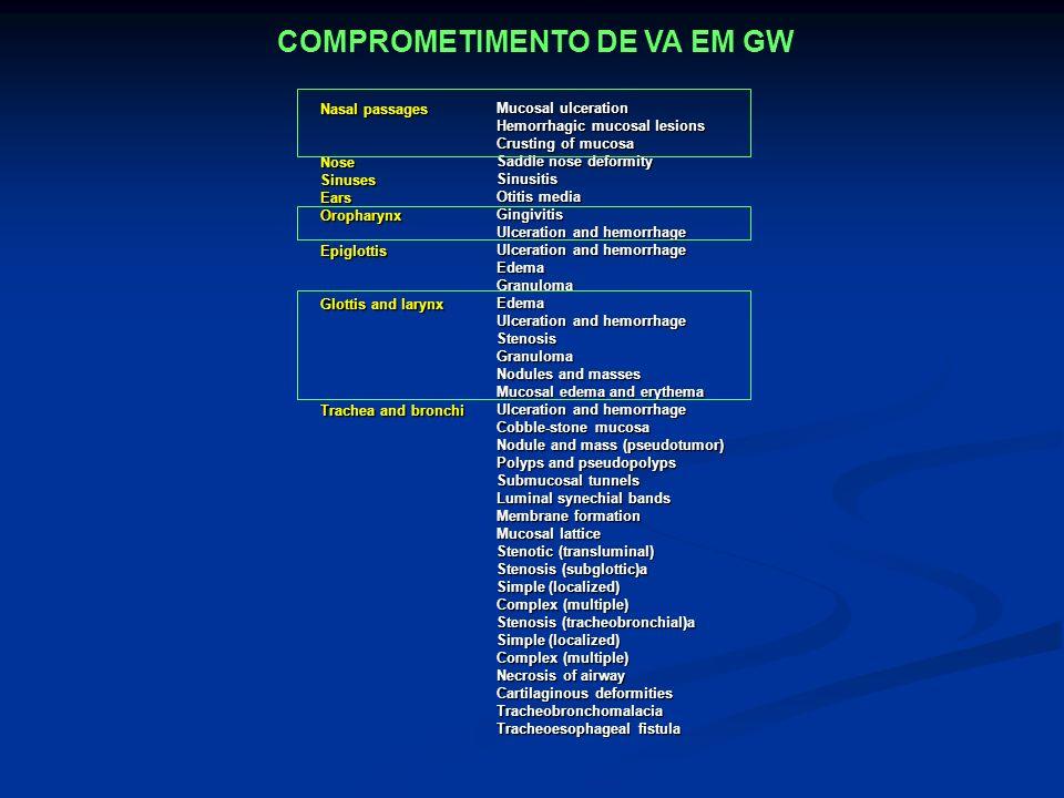 COMPROMETIMENTO DE VA EM GW
