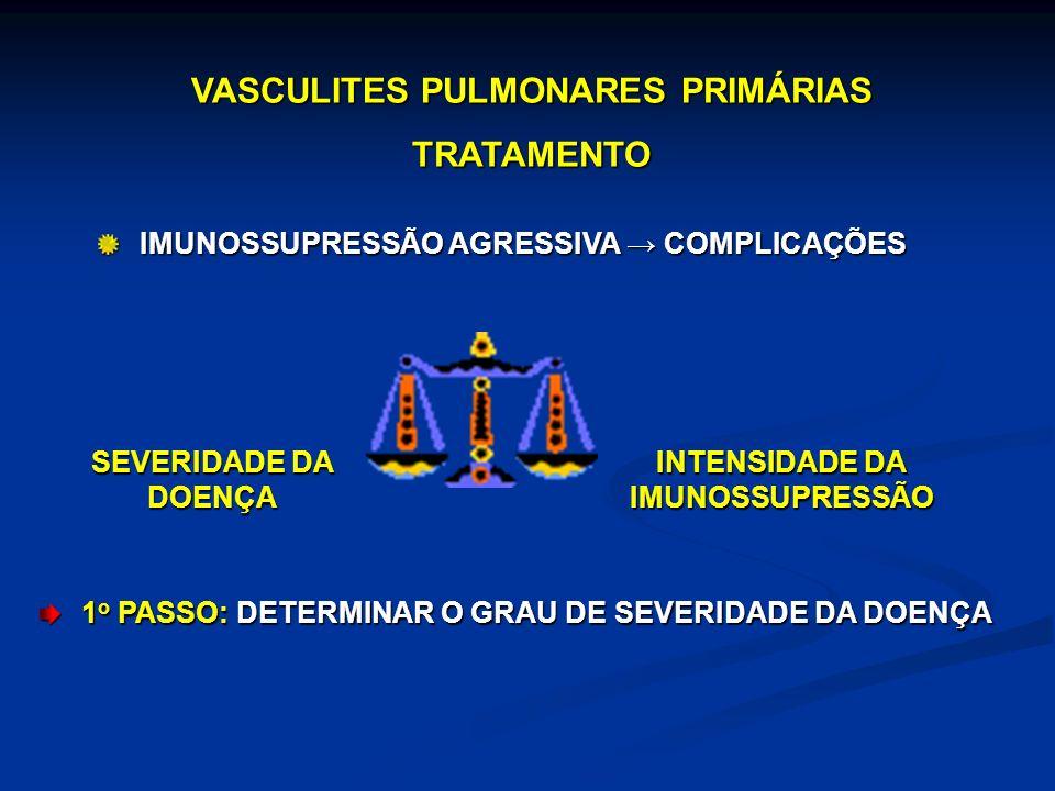VASCULITES PULMONARES PRIMÁRIAS