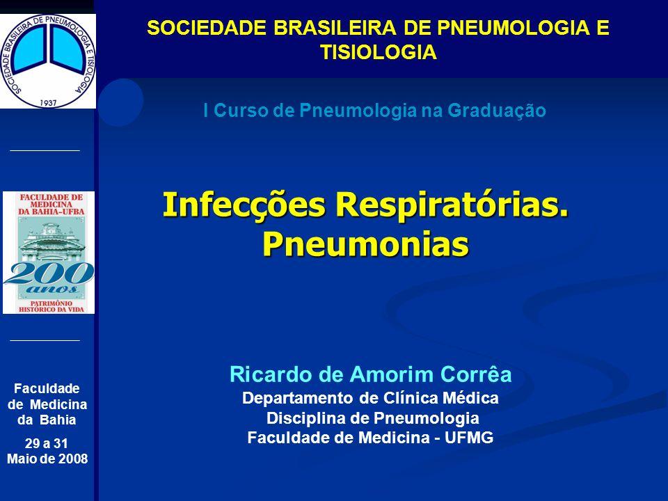 Infecções Respiratórias. Pneumonias