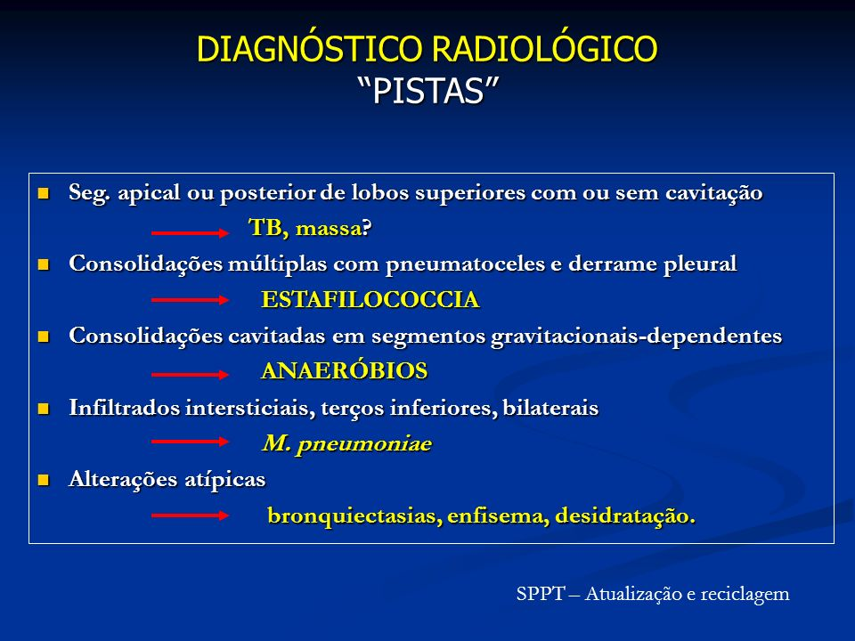 DIAGNÓSTICO RADIOLÓGICO PISTAS