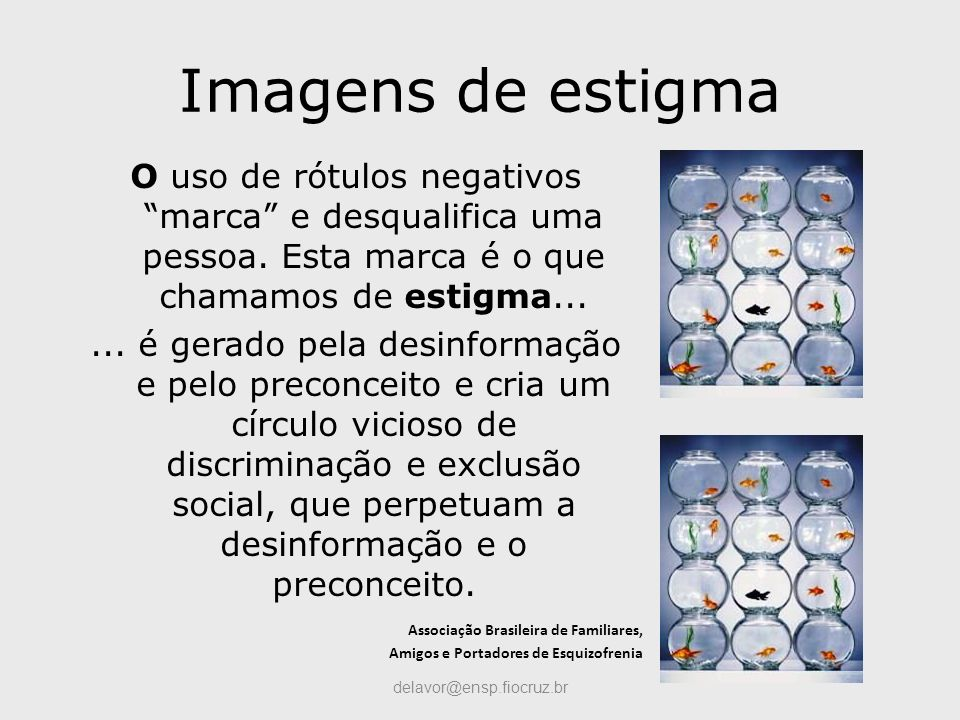 Imagens de estigma