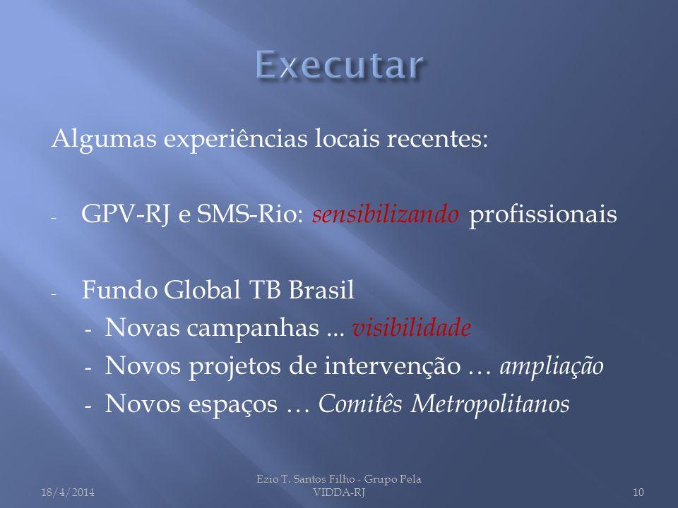 Ezio T. Santos Filho - Grupo Pela VIDDA-RJ